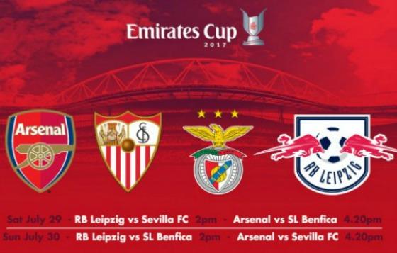 Leipzig Emirates Cup 2017