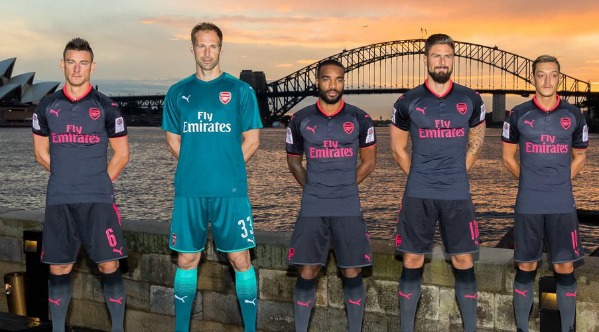 New Arsenal Third Kit 2017 2018