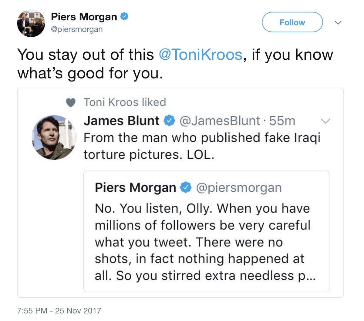 Piers Morgan Toni Kroos