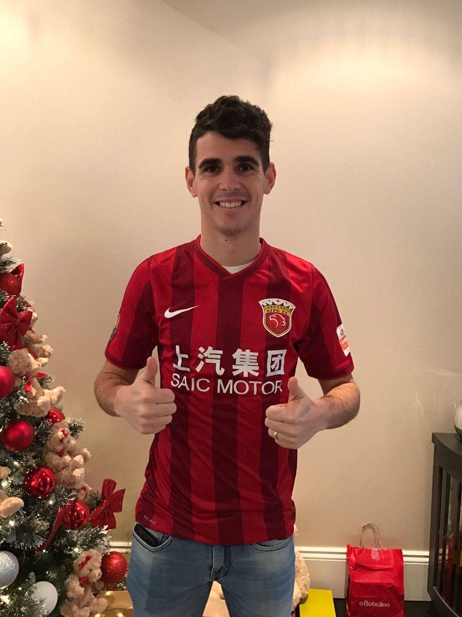 Oscar Shanghai SIPG Jersey 2016