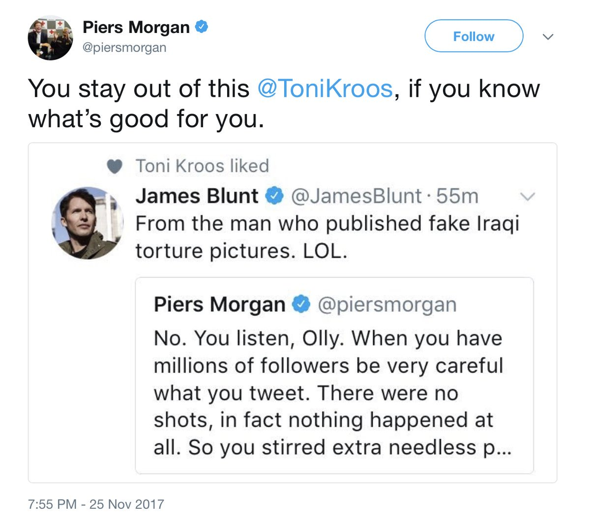 Piers Morgan Toni Kroos