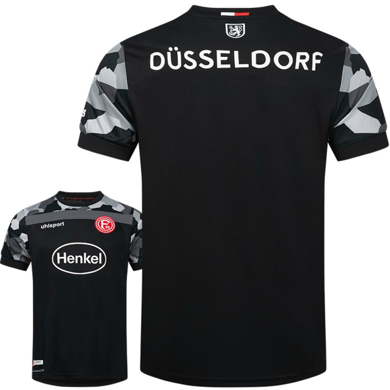 Back of Fortuna Dusseldorf Away Kit 20-21