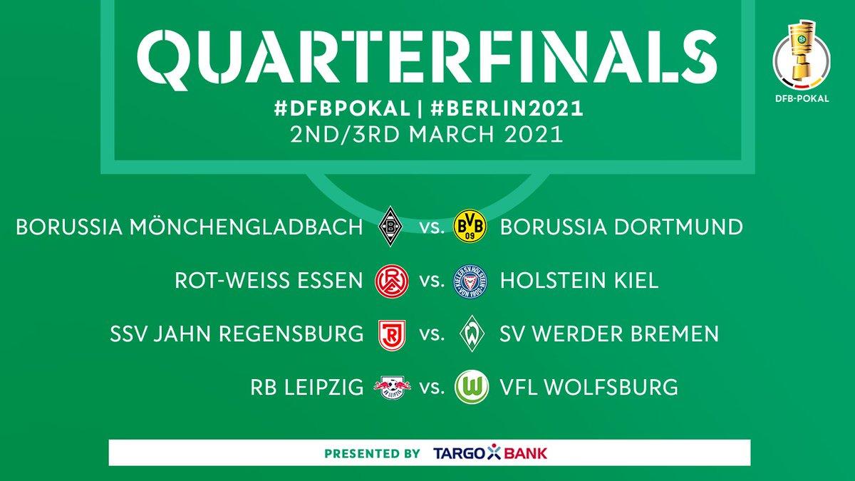 DFB Pokal Draw 2020-2021