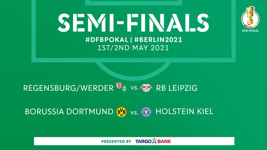 DFB Pokal Semifinal Draw 2021